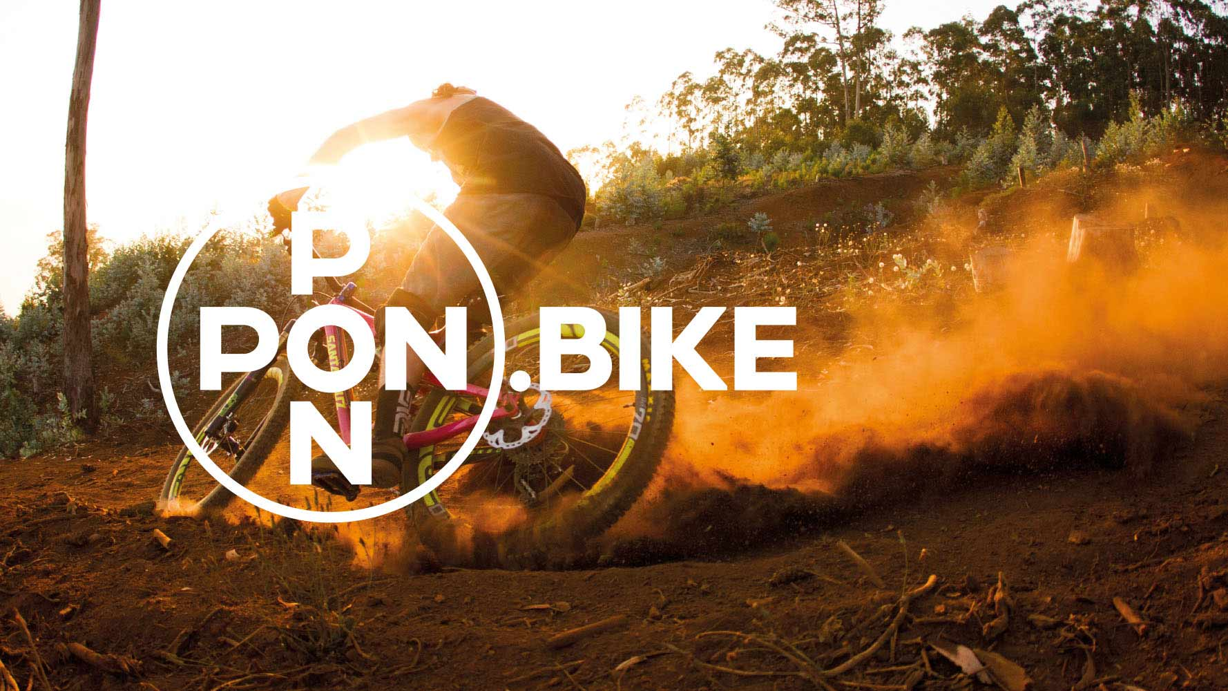 Pon Bike promotional picture with mtb