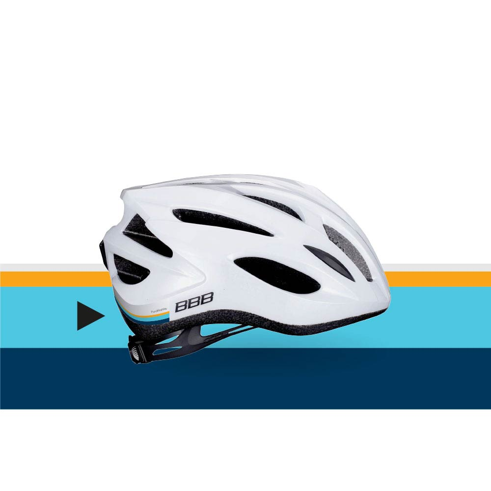 Pon Bike promotional picture helmet